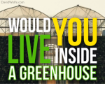 would you live inside a greenhouse